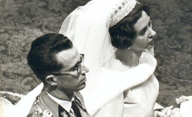 Durante la boda.