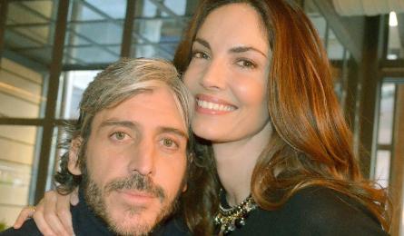 Eugenia Silva y Alfonso de Borbón, en una imagen del evento.