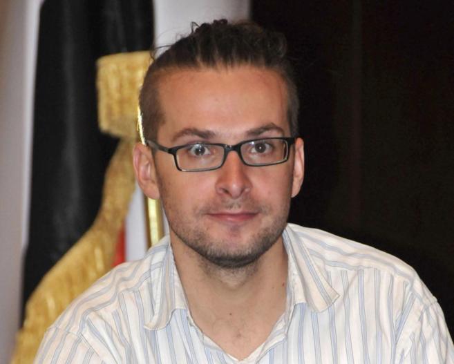El periodista estadounidense Luke Somers, de 33 años, secuestrado por...