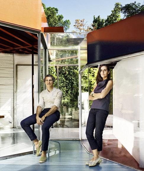 Los arquitectos José Selgas y Lucía Cano.