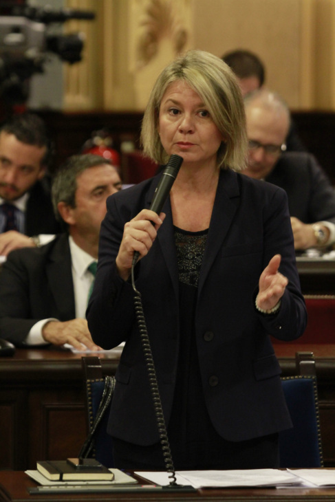 La consellera de Educación, Cultura y Universidades, Núria Riera.