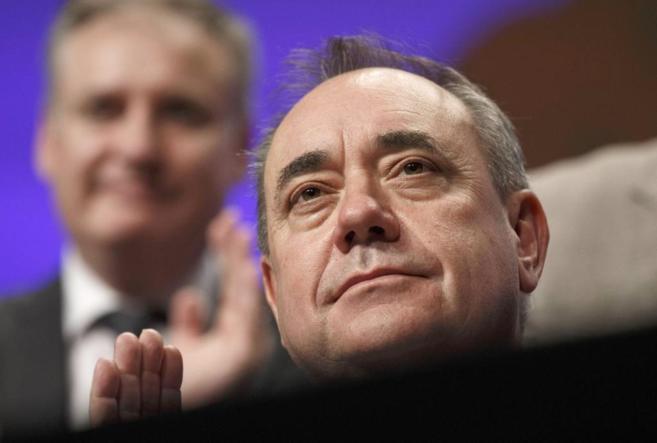 El líder escocés Alex Salmond.