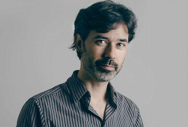 El escritor Jorge Magano, autor de 'La mirada de piedra'.