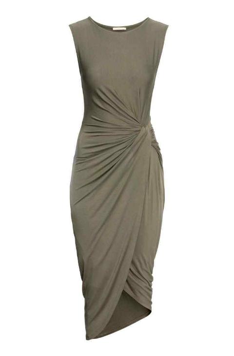 última venta estilo de moda de 2019 personalizadas Vestido drapeado, de h&m (29,99 euros). | Yodona | EL MUNDO