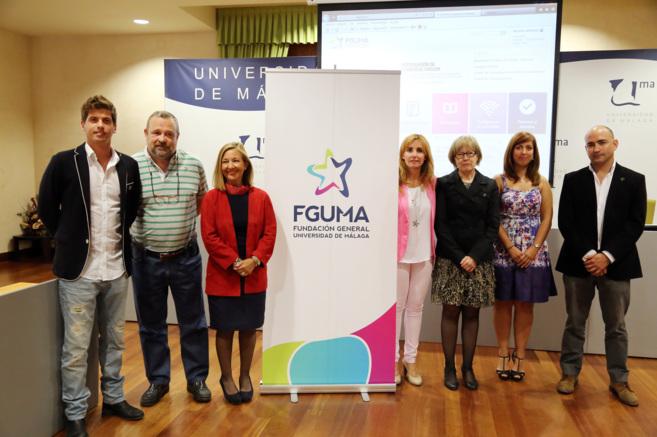 Presentación de la nueva imagen de la FGUMA, el pasado 20 de mayo.