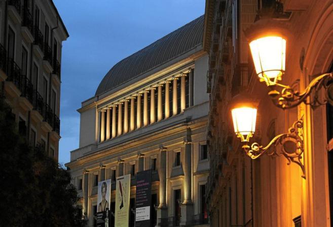 El Teatro Real de Madrid.