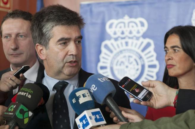 Ignacio Cosidó, en la reunión celebrada en Gran Canaria.