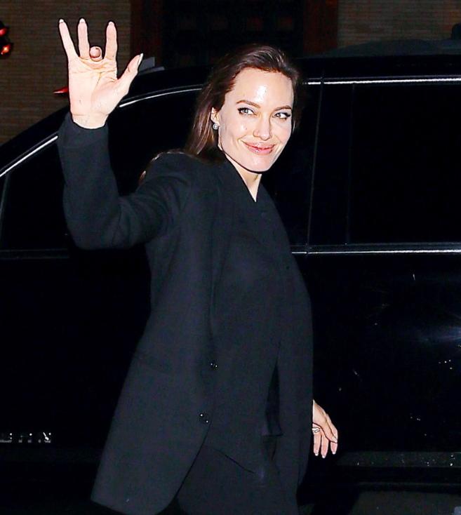 La actriz, hace unos días en Los Ángeles.