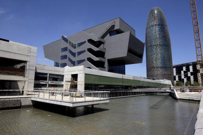 El nuevo Museo del Diseño, conocido popularmente como 'la...