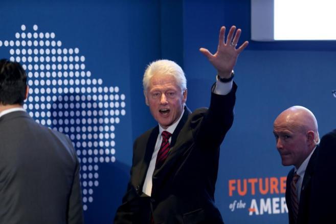 El ex presidente de EEUU, Bill Clinton, en una imagen reciente.