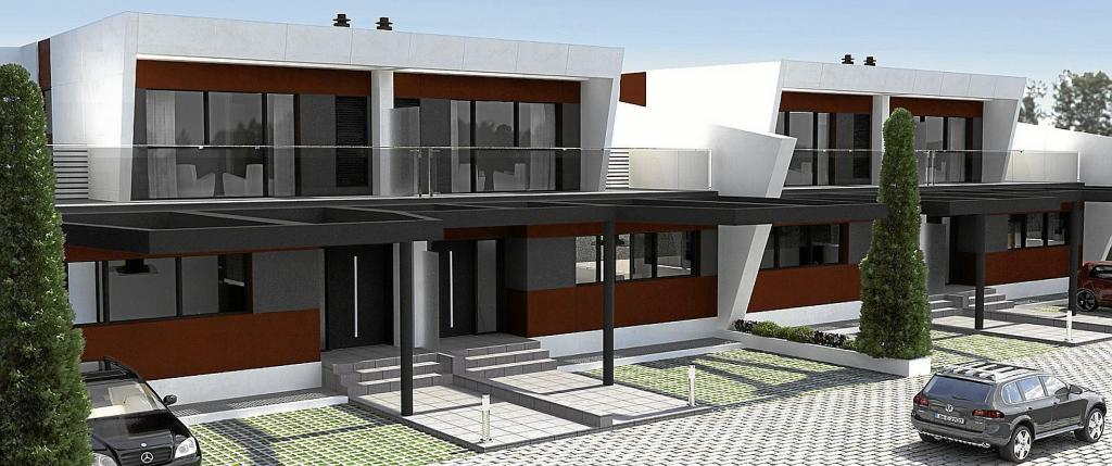 Recreación del proyecto e-Domus, una promoción de 21 viviendas...