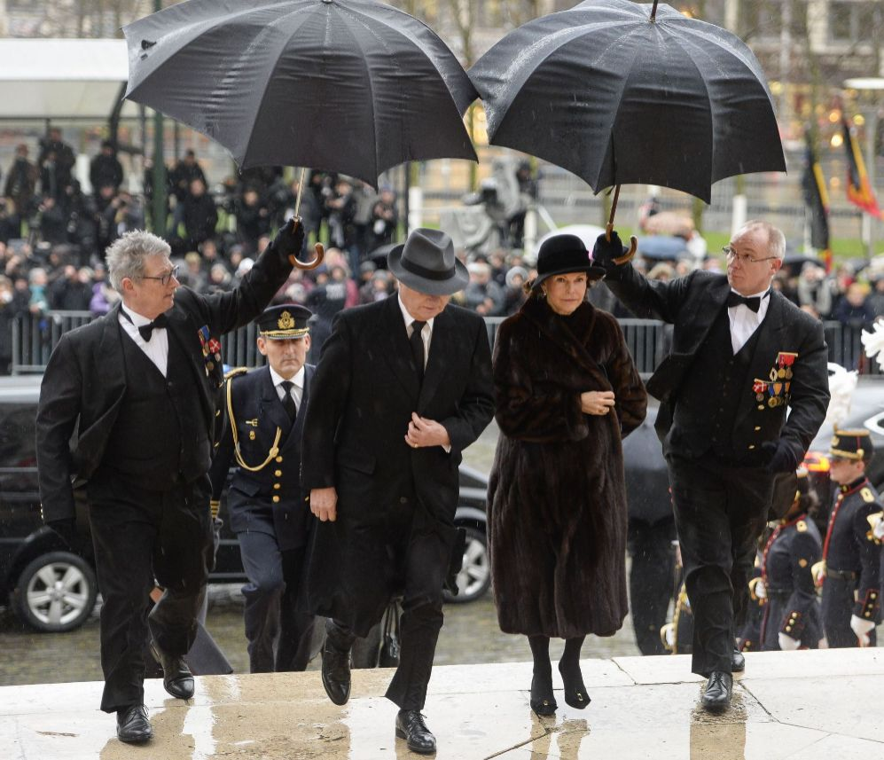 Los reyes de Suecia, Carlos Gustavo y Silvia.