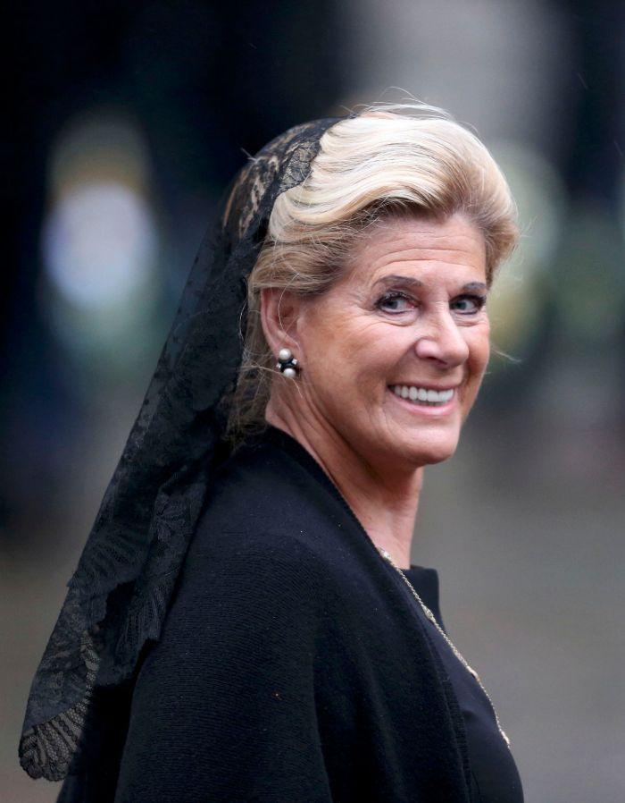 La princesa Lea de Bélgica.