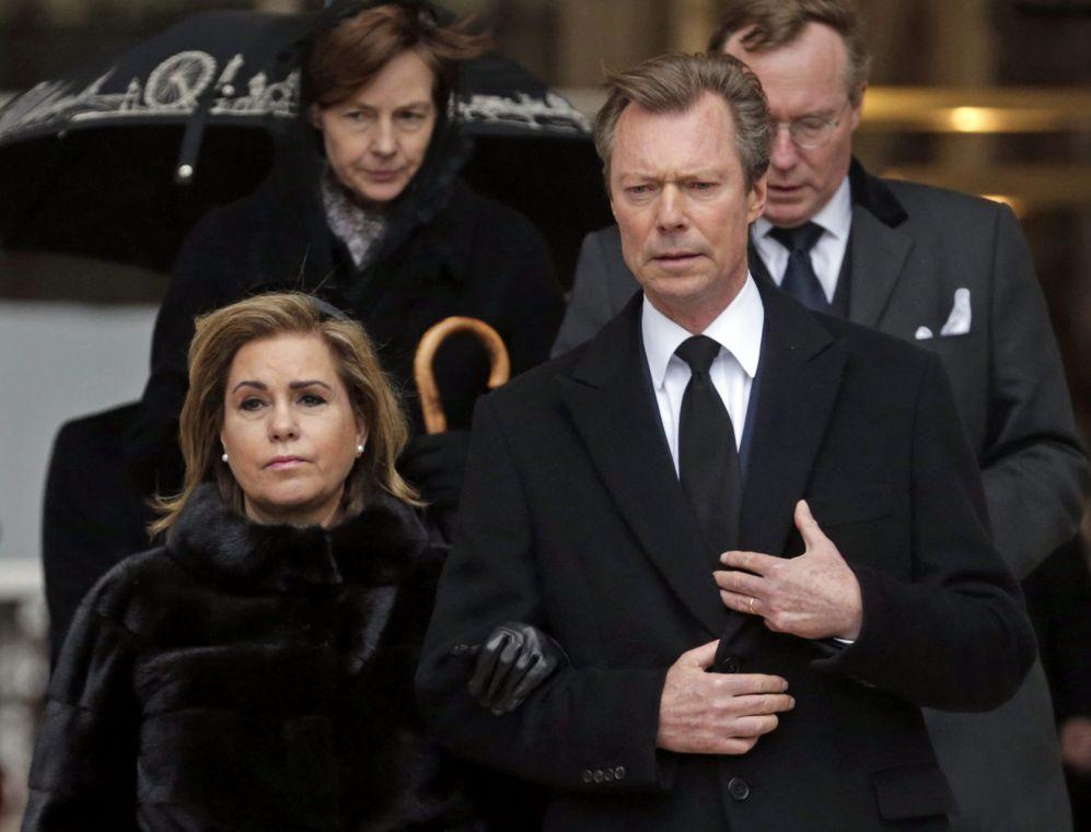 Los grandes duques de Luxemburgo (Enrique era sobrino político de...