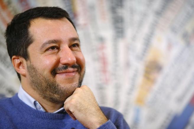 Matteo Salvini, líder de la Liga Norte.