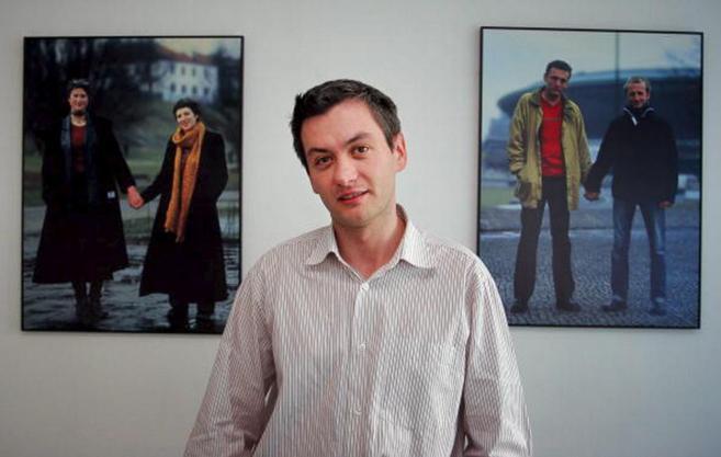 Robert Biedrom, fotografiado en su oficina de Varsovia.