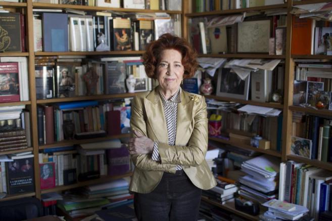 Carmen Iglesias, directora de la Academia de la Historia.