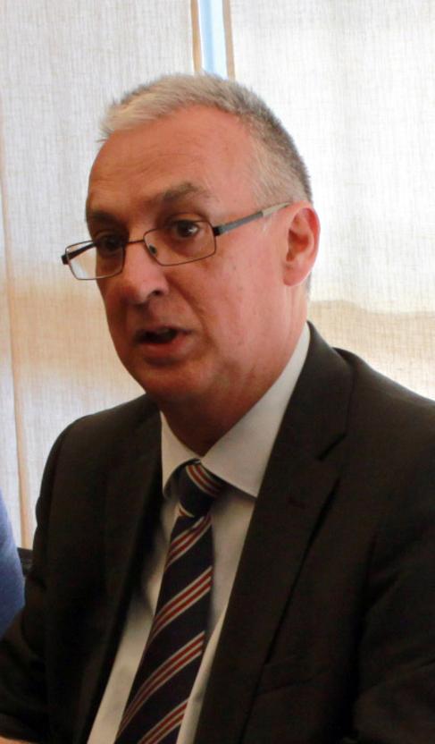 El alcalde de Benidorm, Agustín Navarro, este viernes.