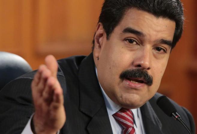 Nicolás Maduro durante un reciente acto.