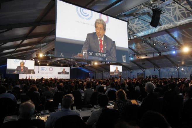 Reunión de la Cumbre del Clima 2014 en Lima (Perú).