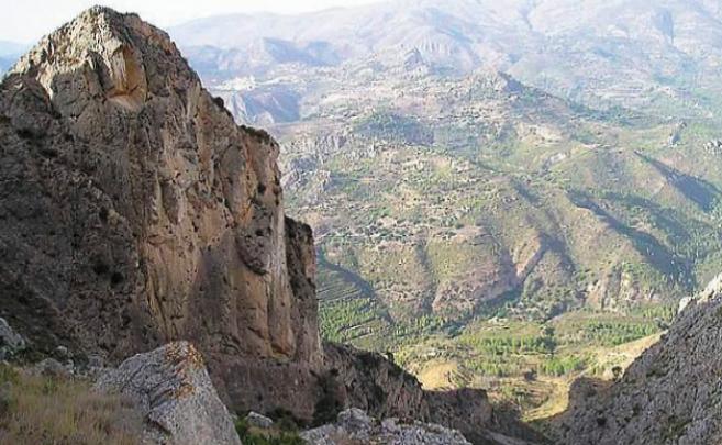 Una imagen de Sierra Bernia.