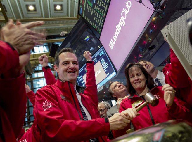 Renaud Laplanche, fundador y ceo de Lending Club, el día del...
