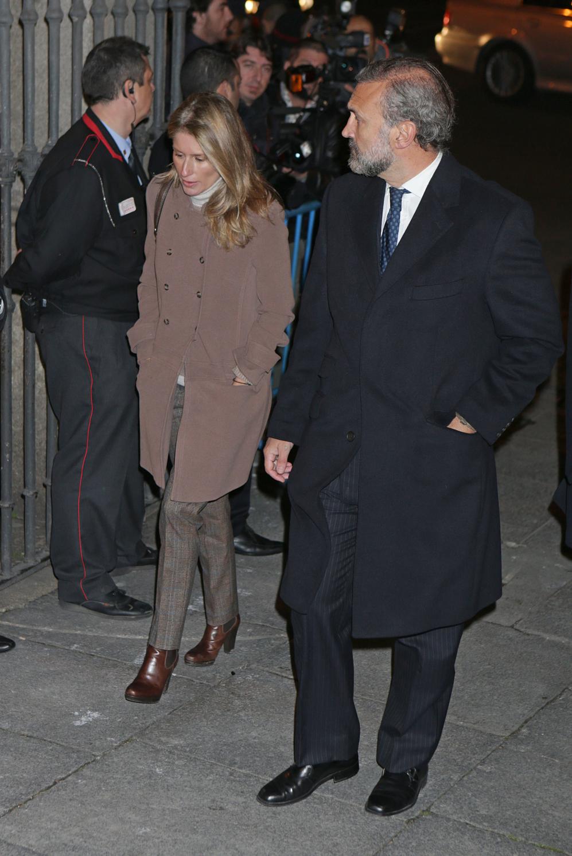 La pareja formada por María Chávarri y Javier Soto.