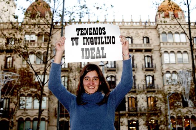 La arquitecta Lidia Martín es la fundadora de Llogam. SANTI...