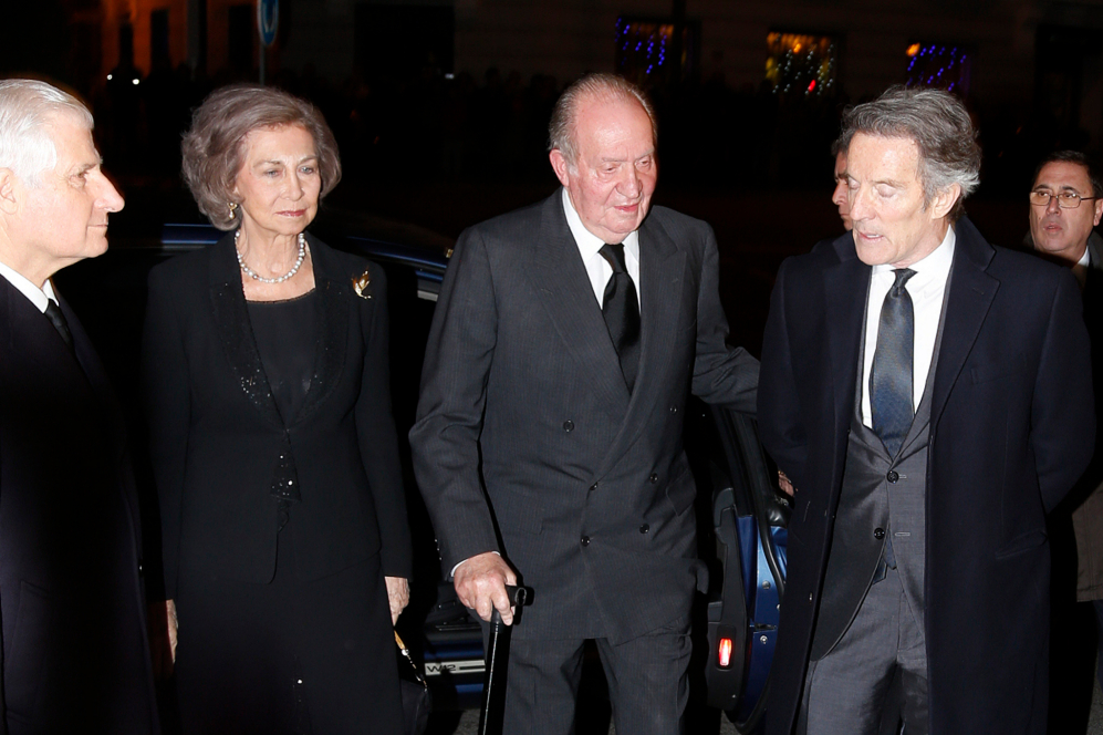 Los Reyes eméritos, Don Juan Carlos y Doña Sofía, han presidido el...