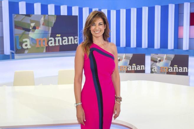 Mariló Montero en el plató de 'La Mañana'.