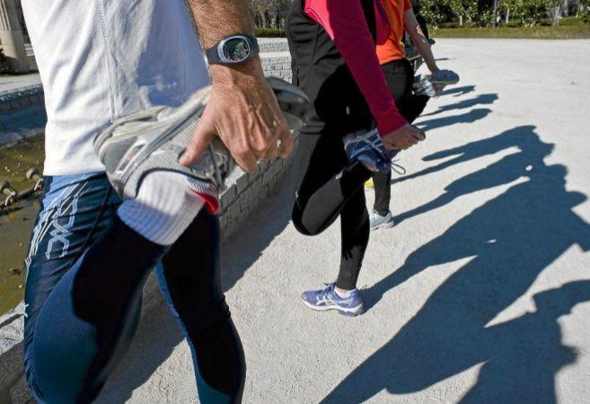El deporte es clave para perder peso porque hace que expulsemos más...