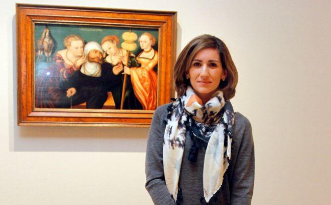 Alejandra Martos, hija de Raphael.