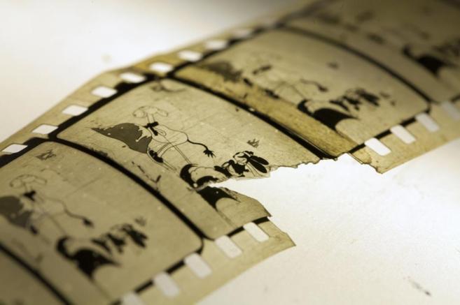 Negativo restaurado de 'Empty socks', un corto de Disney de...