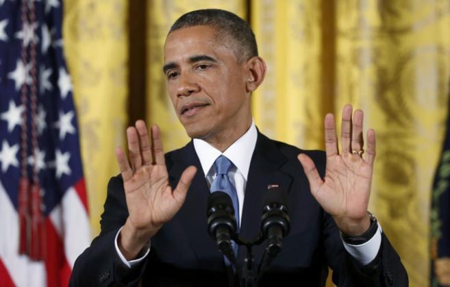 El presidente de EEUU, Barack Obama, en un acto reciente en la Casa...