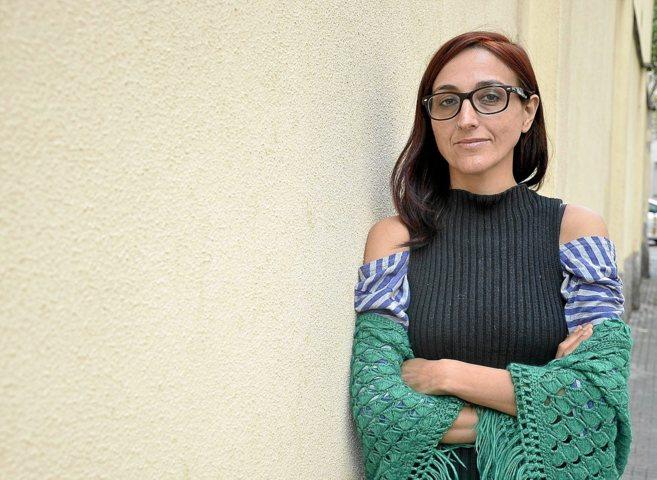 La activista en Derechos Humanos Helena Maleno, ayer, en Palma.