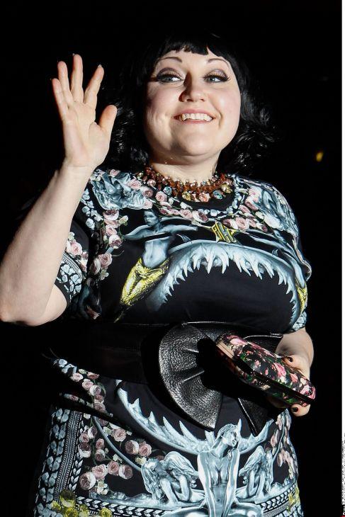 Beth Ditto. La revista 'NME' la nombró como la persona más cool del...