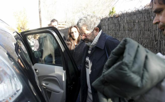 Miguel Rosendo, el día de su detención.