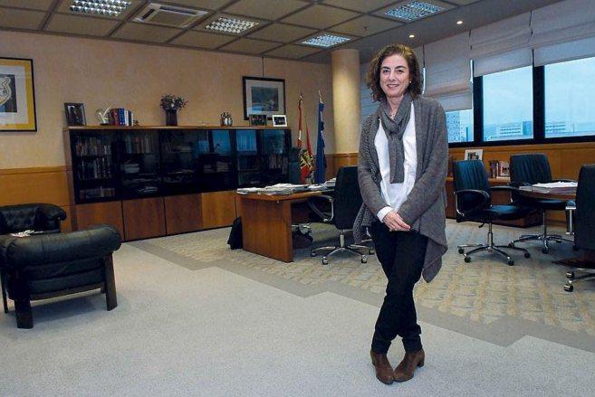 La consejera de Educación del Gobierno vasco Cristina Uriarte.
