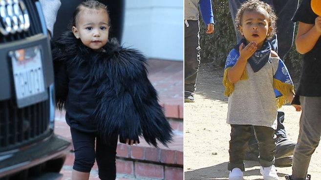 North West, hija de Kim Kardashian y Kanye West.