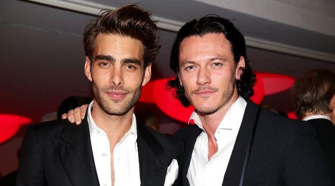 El modelo y el actor, en una imagen reciente.
