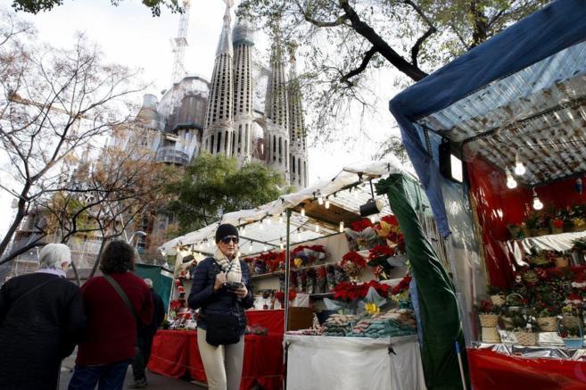 Imagenes Sagrada Familia Navidad.Navidad En La Sagrada Familia Cataluna El Mundo