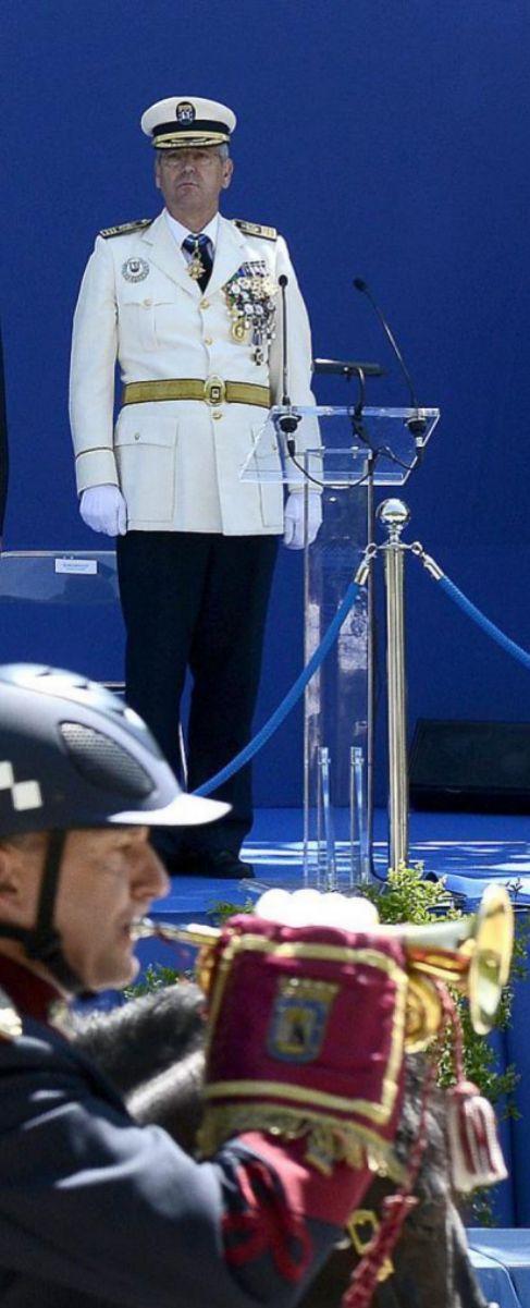 Monteagudo, cuando aún era inspector jefe de la Policía Municipal.