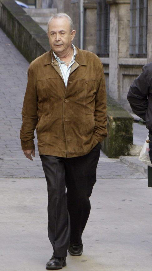El juez José Castro, a la salida hoy de los Juzgados de Palma.