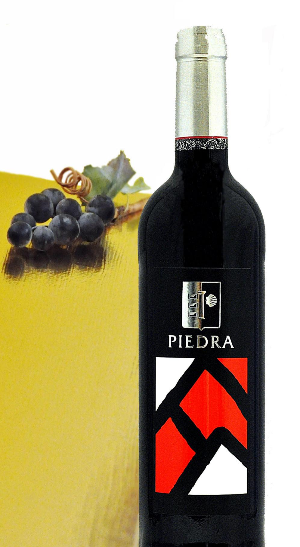 Piedra Etiqueta Roja 2010 es un vino tan elegante visualmente como...