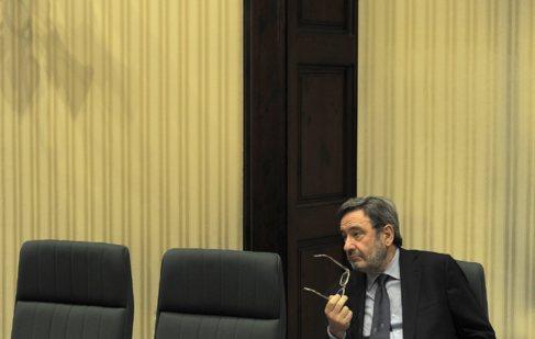 El ex presidente de Caixa Catalunya Narcis Serra.