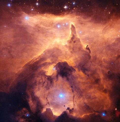 NGC6357: Un nacimiento estelar.