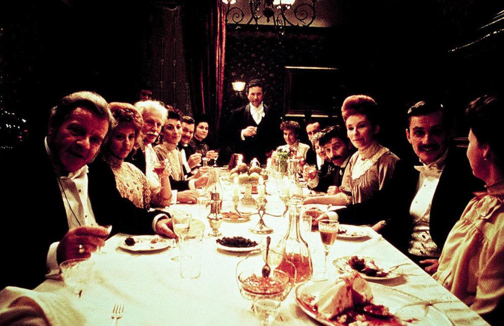 Un fotograma de 'Dublineses', de John Huston.