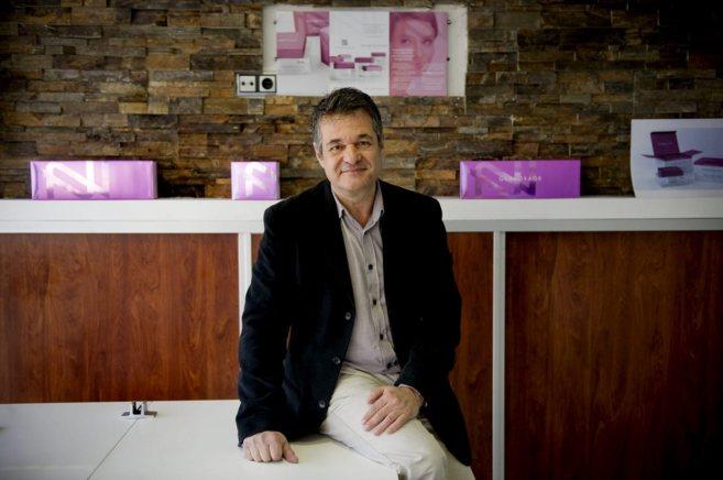 Miguel Ángel Herranz es el fundador de Genocosmetics.