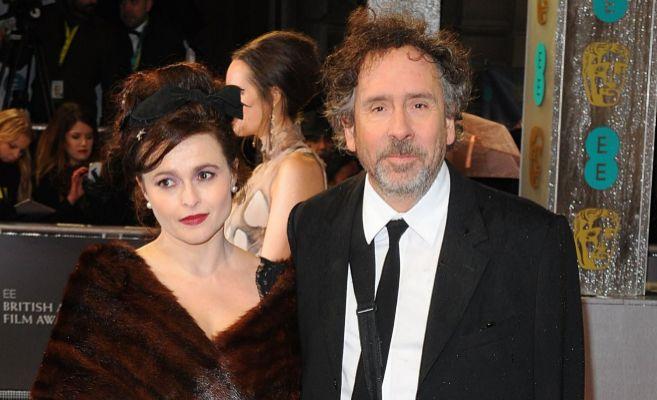 Helena Bonham Carter y Tim Burton en un estreno hace unos meses.