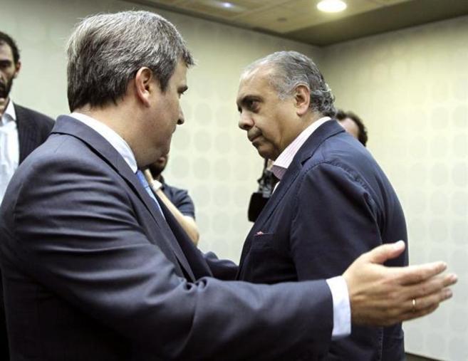 Miguel Cardenal y José Luis Sáez.